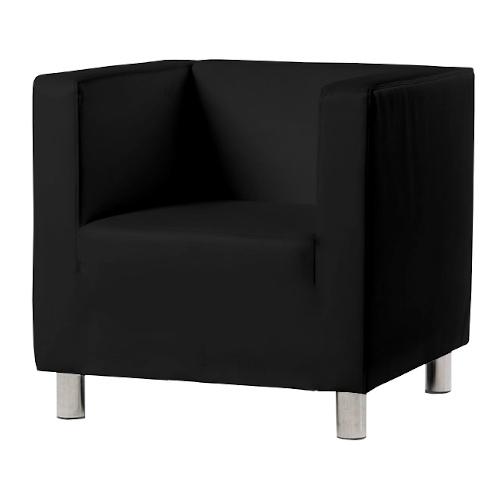 fotel Jim czarny
