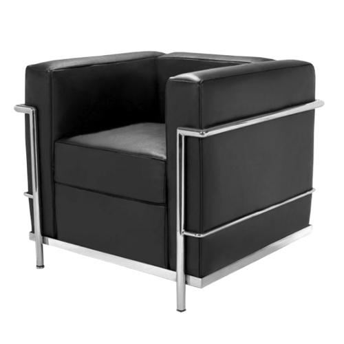 czarny fotel wynajem