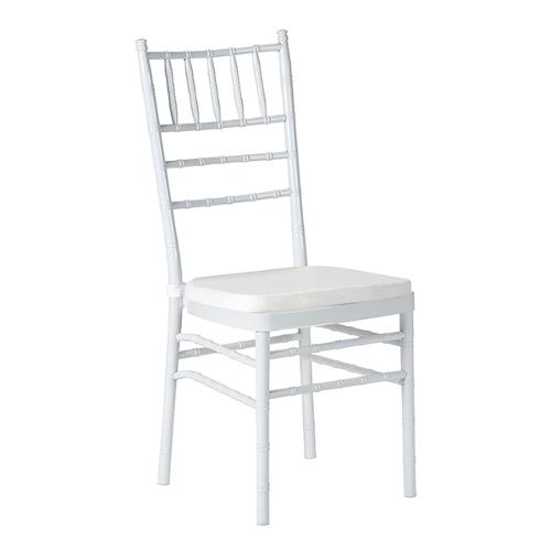 krzesło chiavari białe wynajem