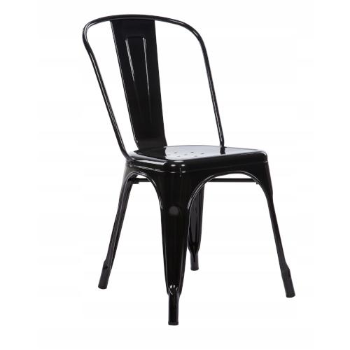 czarne krzesło wynajem